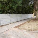 concrete sleeper wall